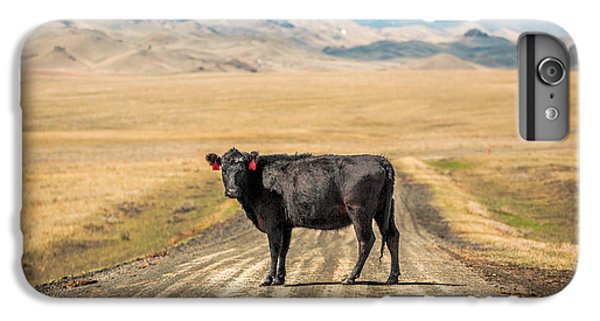 Middle Of The Road IPhone 6 Plus Case by Todd Klassy