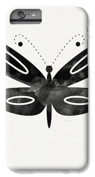 Butterfly iPhone 6 Plus Case - Midnight Butterfly 1- Art By Linda Woods by Linda Woods