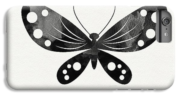Butterfly iPhone 6 Plus Case - Midnight Butterfly 3- Art By Linda Woods by Linda Woods