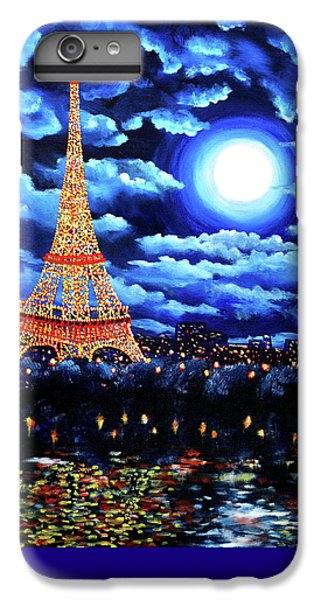 Midnight In Paris IPhone 6 Plus Case by Laura Iverson