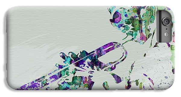 Saxophone iPhone 6 Plus Case - Miles Davis by Naxart Studio