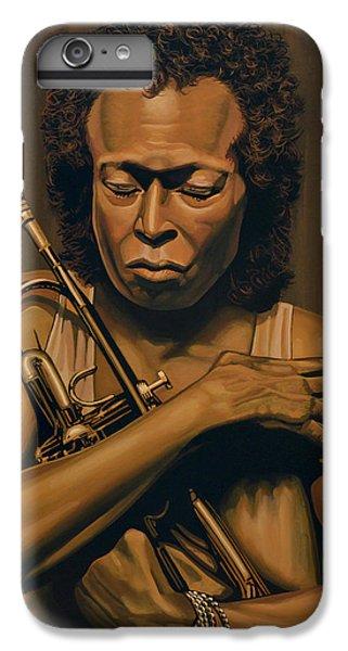 Trumpet iPhone 6 Plus Case - Miles Davis Painting by Paul Meijering