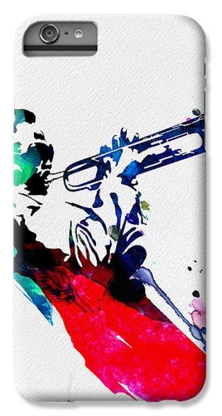 Miles Watercolor IPhone 6 Plus Case by Naxart Studio