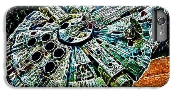 Han Solo iPhone 6 Plus Case - Millenium Falcon by Paul Ward
