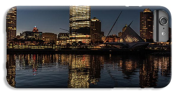 IPhone 6 Plus Case featuring the photograph Milwaukee Reflections by Randy Scherkenbach