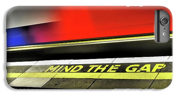Mind The Gap IPhone 6 Plus Case by Rona Black