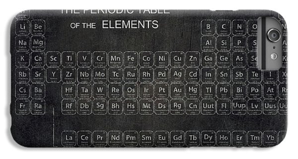 Minimalist Periodic Table IPhone 6 Plus Case by Daniel Hagerman