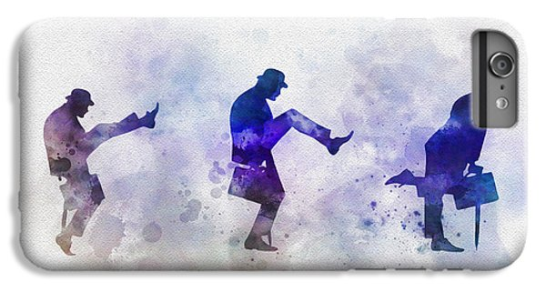 Ministry Of Silly Walks IPhone 6 Plus Case by Rebecca Jenkins