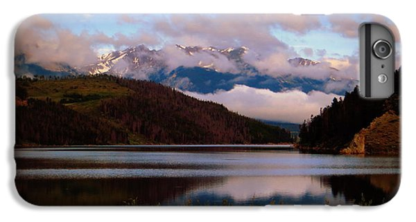 IPhone 6 Plus Case featuring the photograph Misty Mountain Morning by Karen Shackles