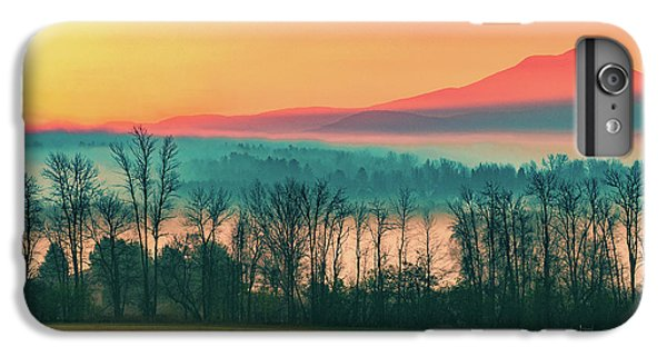 Misty Mountain Sunrise Part 2 IPhone 6 Plus Case by Alan Brown