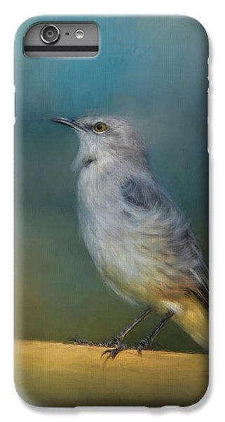 Mockingbird On A Windy Day IPhone 6 Plus Case by Jai Johnson
