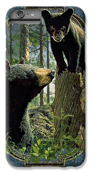 Bear iPhone 6 Plus Case - Mom And Cub Bear by JQ Licensing