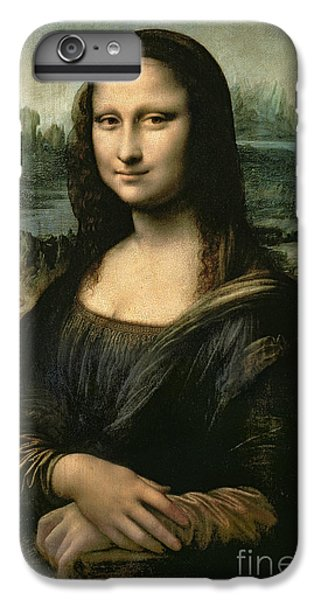 Portraits iPhone 6 Plus Case - Mona Lisa by Leonardo da Vinci