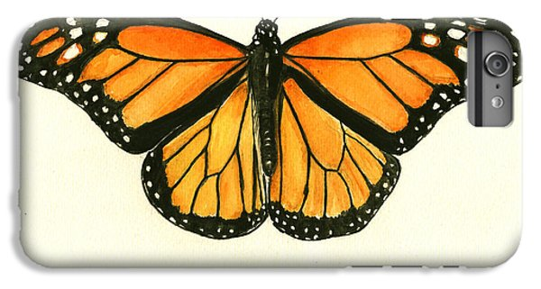 Butterfly iPhone 6 Plus Case - Monarch Butterfly by Juan Bosco