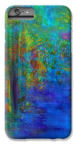 IPhone 6 Plus Case featuring the painting Monet Woods by Claire Bull