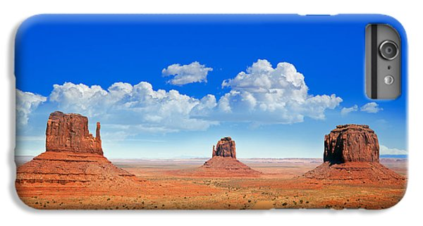 Desert iPhone 6 Plus Case - Monument Vally Buttes by Jane Rix