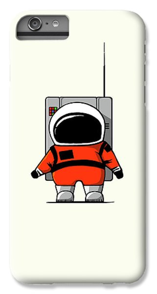 Science Fiction iPhone 6 Plus Case - Moon Man by Nicholas Ely