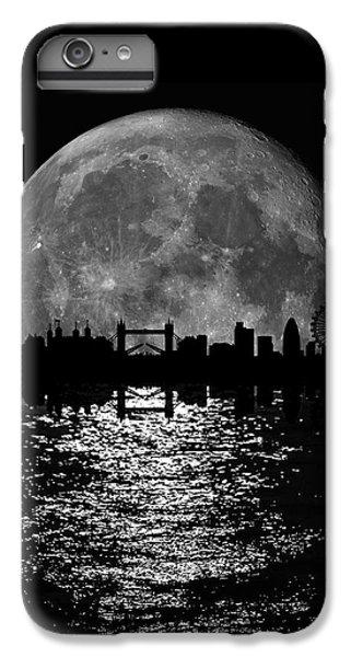 Moonlight London Skyline IPhone 6 Plus Case by Mark Rogan