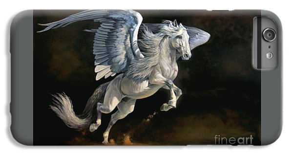 Pegasus iPhone 6 Plus Case - Moonlight Magic by Jeanne Newton Schoborg