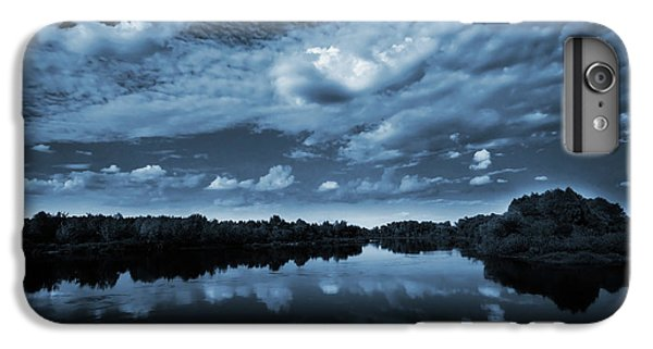 Landscape iPhone 6 Plus Case - Moonlight Over A Lake by Jaroslaw Grudzinski