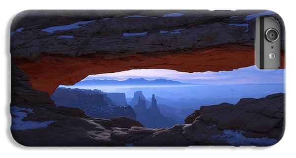 Landscape iPhone 6 Plus Case - Moonlit Mesa by Chad Dutson