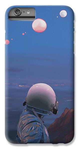Moons IPhone 6 Plus Case by Scott Listfield