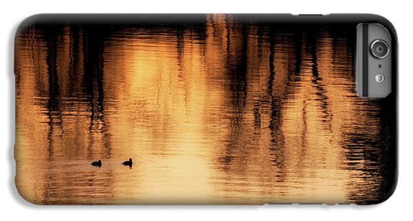 IPhone 6 Plus Case featuring the photograph Morning Ducks 2017 by Bill Wakeley