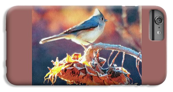 Titmouse iPhone 6 Plus Case - Morning Glow by Ken Everett