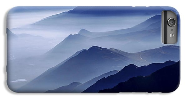 Mountain iPhone 6 Plus Case - Morning Mist by Chad Dutson