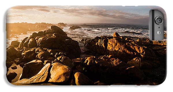 IPhone 6 Plus Case featuring the photograph Morning Ocean Panorama by Jorgo Photography - Wall Art Gallery