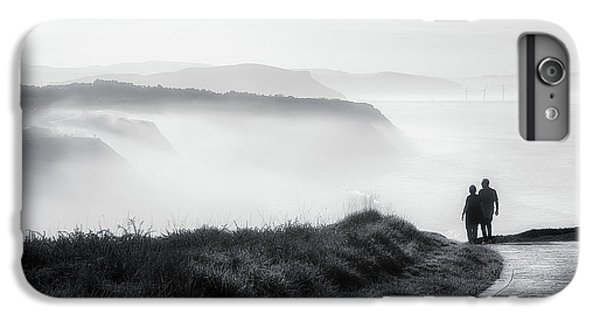Water Ocean iPhone 6 Plus Case - Morning Walk With Sea Mist by Mikel Martinez de Osaba