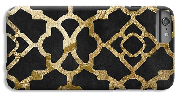Moroccan Gold IIi IPhone 6 Plus Case by Mindy Sommers