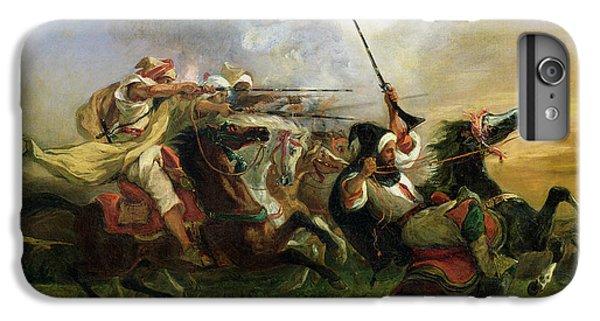 Moroccan Horsemen In Military Action IPhone 6 Plus Case