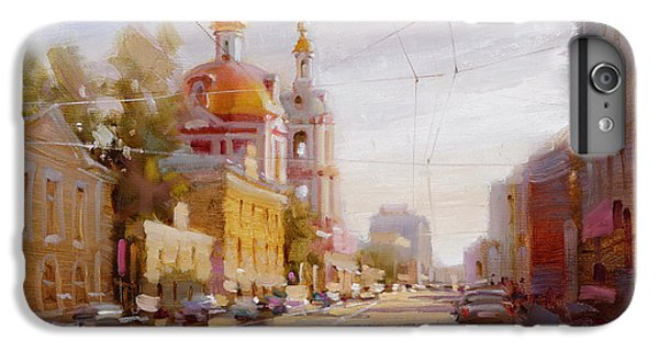 Moscow. Staraya Basmannaya Street IPhone 6 Plus Case by Ramil Gappasov