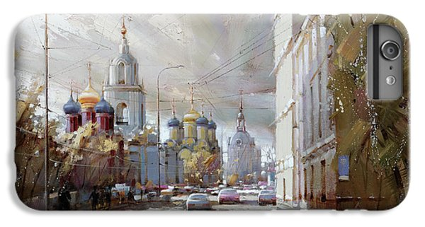 Moscow. Varvarka Street. IPhone 6 Plus Case by Ramil Gappasov