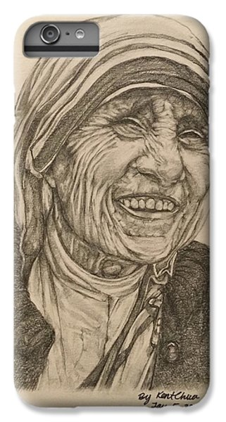 Mother Theresa Kindness IPhone 6 Plus Case by Kent Chua