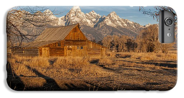 IPhone 6 Plus Case featuring the photograph Moulton Barn by Gary Lengyel