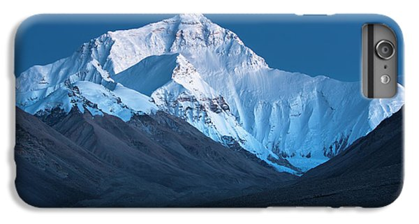 Mount Everest At Blue Hour, Rongbuk, 2007 IPhone 6 Plus Case