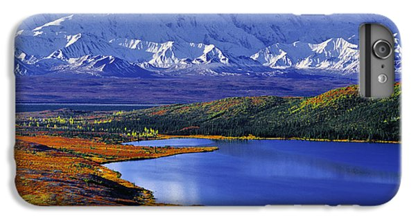 Mount Mckinley And Wonder Lake Campground In The Fall IPhone 6 Plus Case