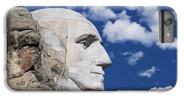 Mount Rushmore Profile Of George Washington IPhone 6 Plus Case