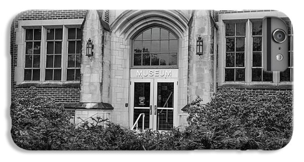 Msu Museum Black And White  IPhone 6 Plus Case by John McGraw