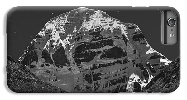 Mt. Kailash In Moonlight IPhone 6 Plus Case by Hitendra SINKAR