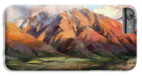 Mount Rushmore iPhone 6 Plus Case - Mt Nebo Range by Steve Henderson