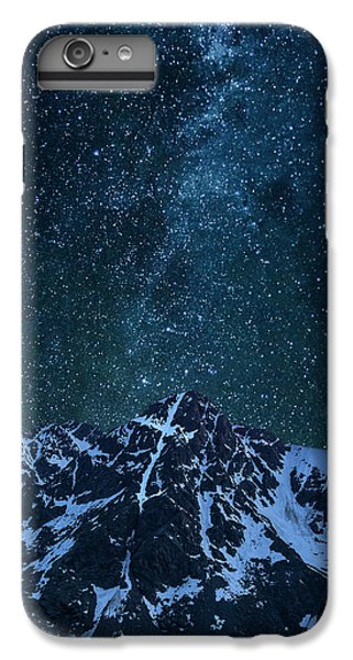 IPhone 6 Plus Case featuring the photograph Mt. Of The Holy Cross Milky Way by Aaron Spong