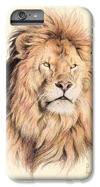 Nature iPhone 6 Plus Case - Mufasa by Lucie Bilodeau