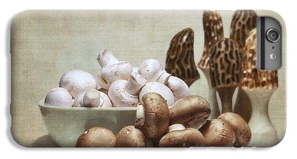Mushrooms And Carvings IPhone 6 Plus Case by Tom Mc Nemar