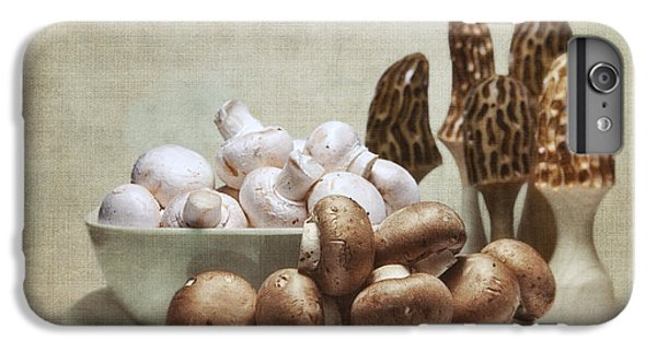 Mushrooms And Carvings IPhone 6 Plus Case by Tom Mc Nemar