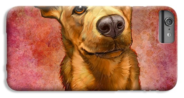Dog iPhone 6 Plus Case - My Buddy by Sean ODaniels