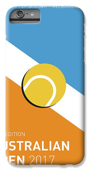 My Grand Slam 01 Australian Open 2017 Minimal Poster IPhone 6 Plus Case by Chungkong Art