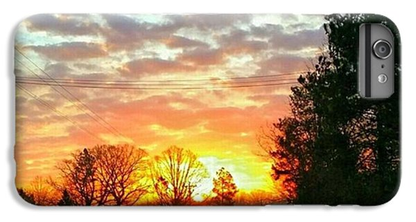 iPhone 6 Plus Case - My View Of The Sunrise This by Robin Mead